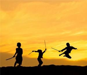 Kung-Fu Sunset