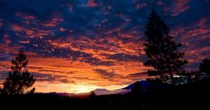 Sunrise at Bukit Tinggi