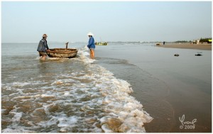 Long Hai Beach & Fishing Village, Central Vietnam