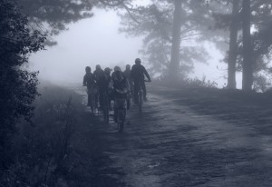 Going to school, Da'Lat, Vietnam