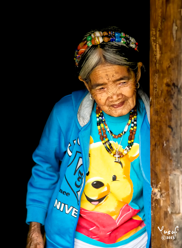 Fang Od is the oldest Mambabatok, or Grand Tattoo Master in the Kalingan village of Buscalan, high in the Cordillera mountains of Northern Luzon