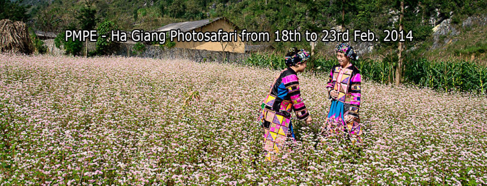 PMPE- Ha Giang Photosafari from 18th to 23rd Feb. 2014
