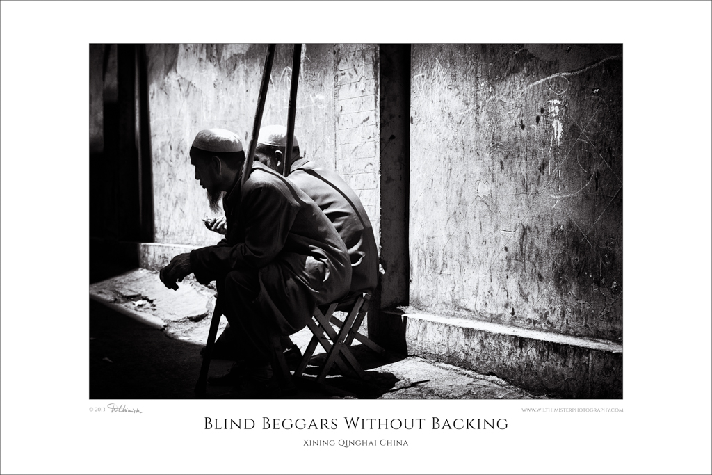 Blind Beggars No Support