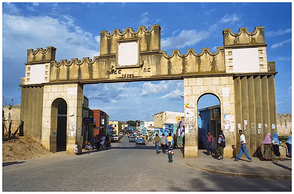 Gate of Harar Walled City
