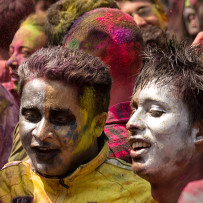 Holi Festival in Nepal (March 2014), a Foreigner's view.