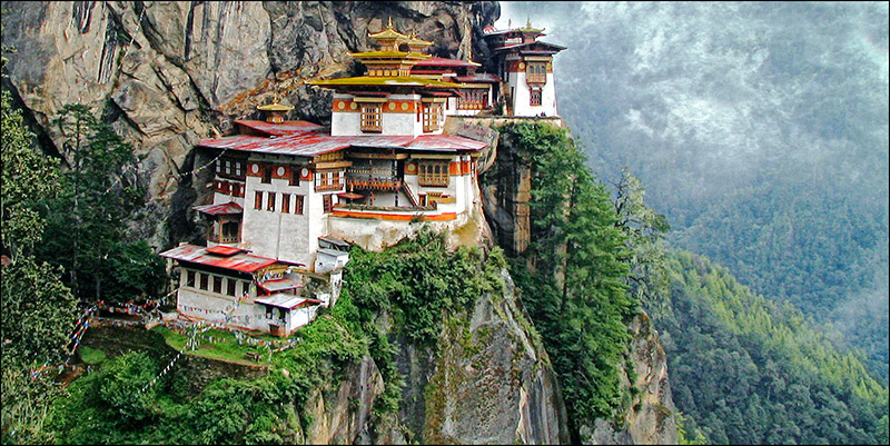Taktshang - The Tiger's Nest