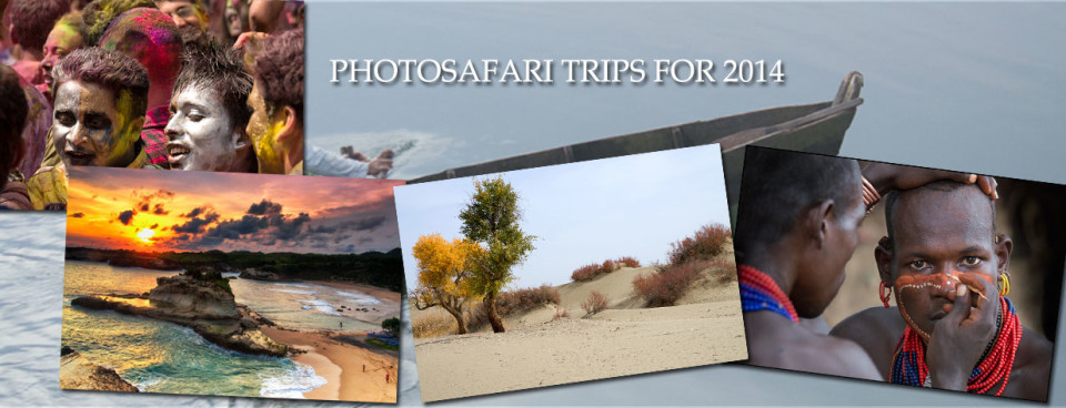 Photosafari Trips for 2014