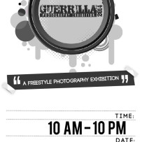 Guerrilla Photography Exhibition at Publika, KL from 5th to 20th April 2014