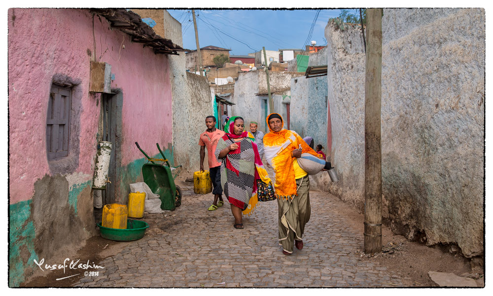 The Streets of Harar are delightfully quaint and narrow … a must visit place for Gypsetters