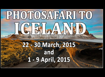 PhotoSafari to ICELAND