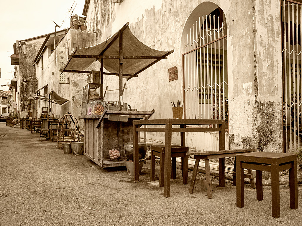I was lucky to be transported back in time to the 60's when Penang was just a free port.