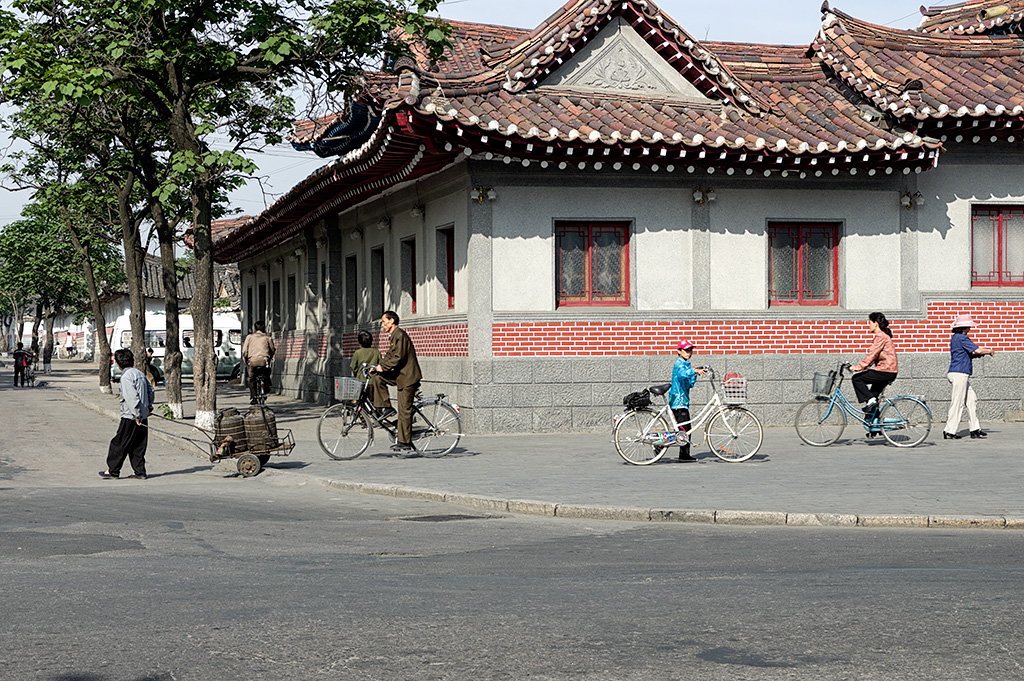 The old part of Keasong city  is located just outside the Hotel. One can watch the locals go about their daily lives.