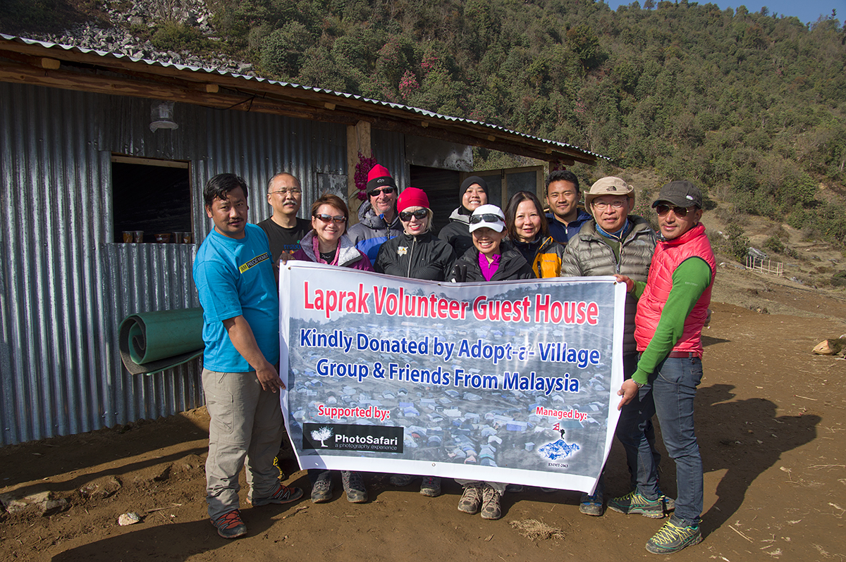 Completion of the Laprak Volunteer Guest House.