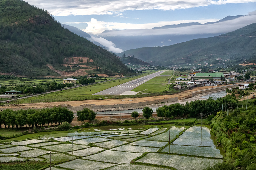 Bhutan's International Airport, Paro