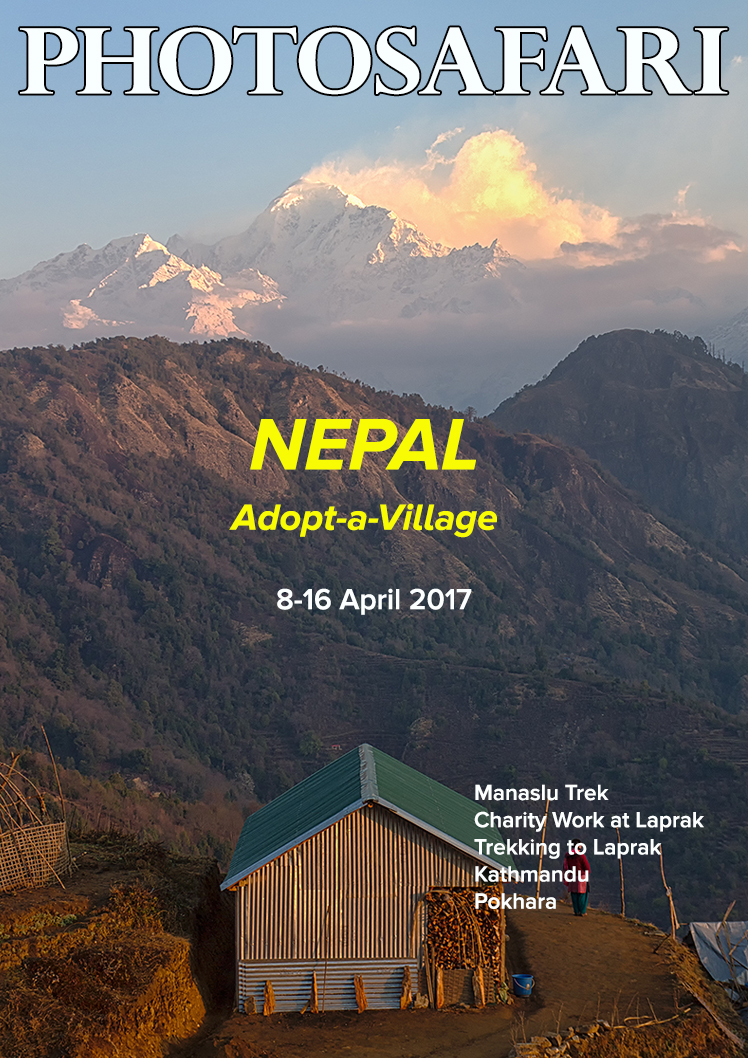 This is a charity trip to Nepal under our project, Adopt-a-Village. You can be part of this charity group.