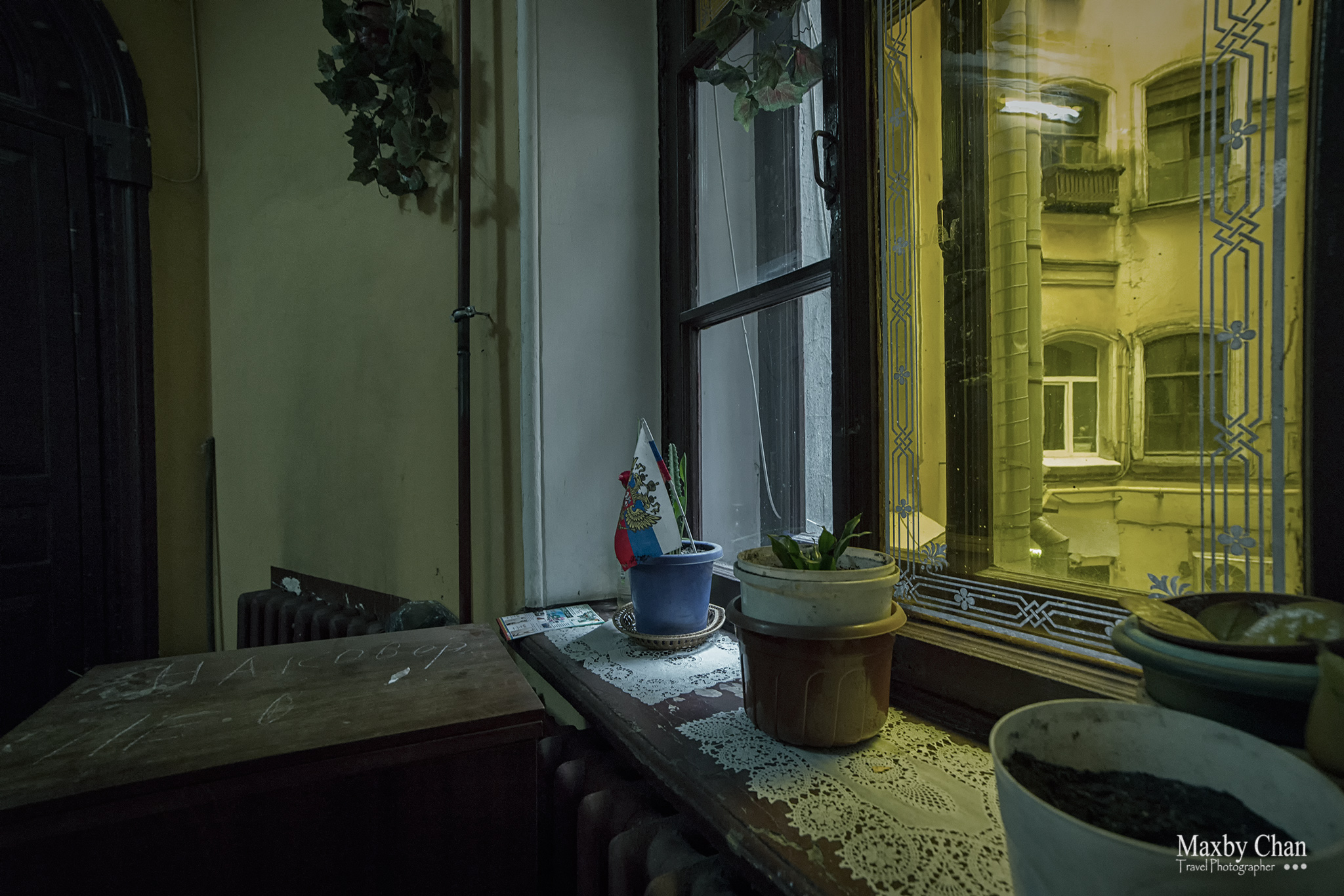 Inside the tenement