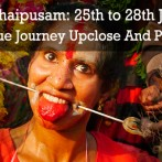 Colours of Thaipusam 25th to 28th January 2013